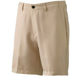 NWT Big Tall Flat Front Easy Care shorts 52